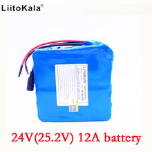 Liitokala 24 В 12ah литий-ионная батарея 24 В 12ah BMS 250 Вт 24 В 350 Вт аккумулятор Для коляске комплект двигателя Electric Power без зарядное устройство