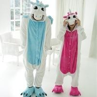 Cosplay Onesie Kigurumi One Piece Unisex Unicorn Costumes Totoro Pajama Sets Flannel Pajamas Winter Homewear For