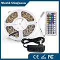 RGB LED Strip Light 5050 Non-Waterproof IP20 10M 5M led light rgb Flexible Strip String Light(mini 44keys controller+Power)
