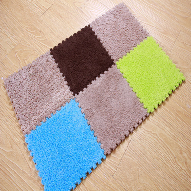 Diy Rubik S Cube Puzzle Carpet Soft Area Rug For Living