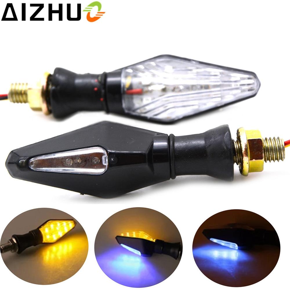Universal 12V Motorcycle Turn Signal Light Lamp LED Blinker For Honda MSX125 CB400 CB500X CB650F CB190R CB1300