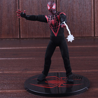 Marvel Comics Ultimates Spiderman Figure Real Clothes 1:12 Ver. PVC Spider Man Marvel Action Figures Collectible Model Toys