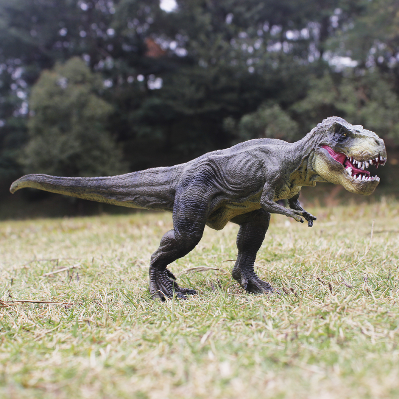 New Jurassic World Park Tyrannosaurus Rex Dinosaur Plastic Toy Model Kids Gifts