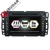 Isudar Car Multimedia Player GPS Android 7.1 2 Din For GMC/Yukon/Savana/Sierra/Tahoe/Acadia/Chevrolet/Express Canbus OBD2 DAB