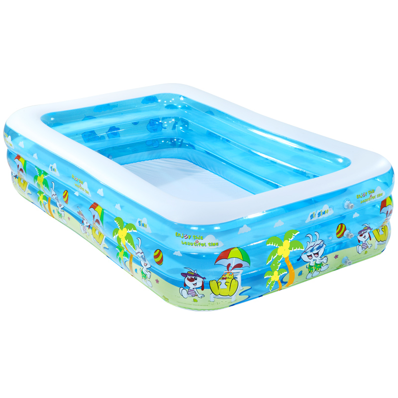High quality thickening children's inflatable swimming pool family super large ocean ball pool large adult playing pool race ball pool ocean ball pool inflatable toys ocean ball blower