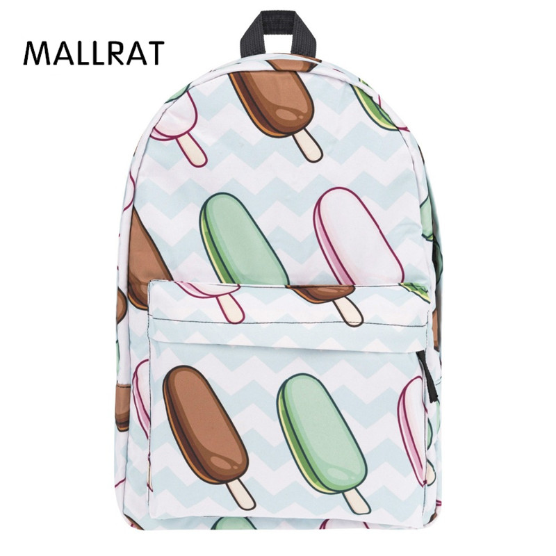 MALLRAT Casual printing Backpack Women Preppy Style For Girl School bags Bag Large Capacity Travel Backpacks