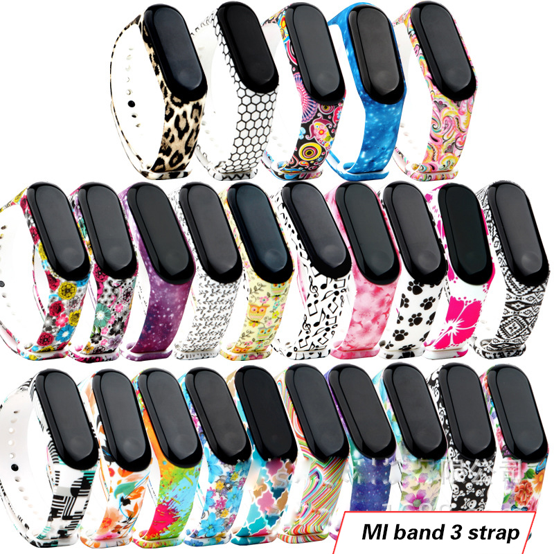 For Xiaomi Mi Branches Bracelet Band 4 Sport Strap Watch Silicone For Xiaomi Mi Band 4 Accessories Strap Bracelet Miband 4