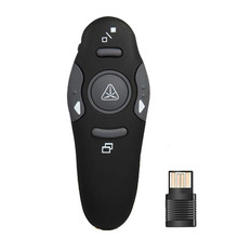 2.4GHz Wireless USB Presenter PPT Pointer Clicker Remote Control Laser Flip Pen Z2