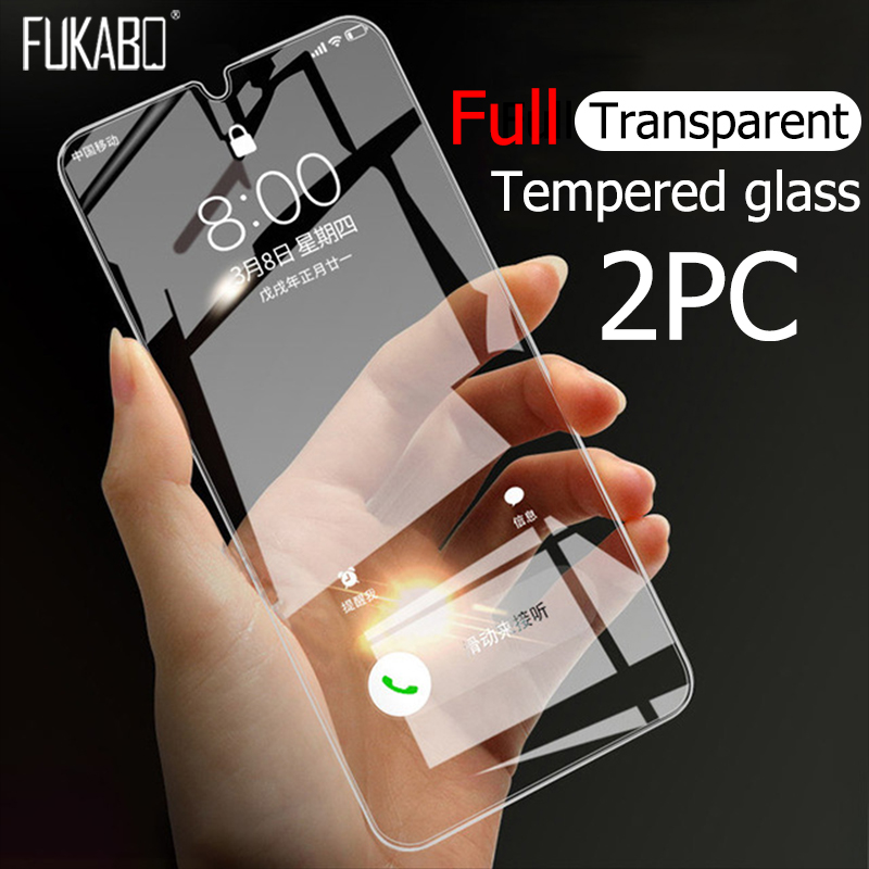 Full-Tempered-Glass Screen-Protector M10-Glass-Film A80 Samsung Galaxy A50 for A50/A70/A20/..
