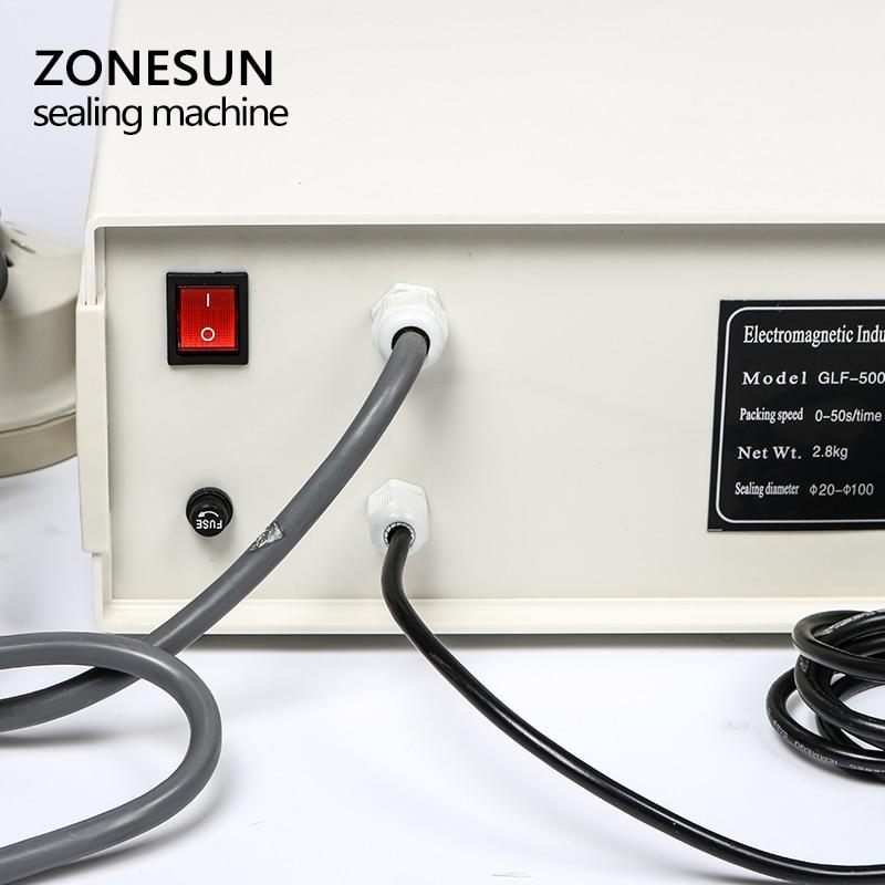 ZONESUN Nowy model GLF-500 Przenośny i ciągły zgrzewarka ręczna - Zestawy narzędzi - Zdjęcie 4
