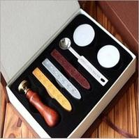 Retro Style Sealing Wax Stamp Set With Gift Box Deluxe Gift Set 26 Alphets Office School