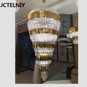 Lustre en cristal moderne salon atmosphère hôtel Deluxe personnalisé ...