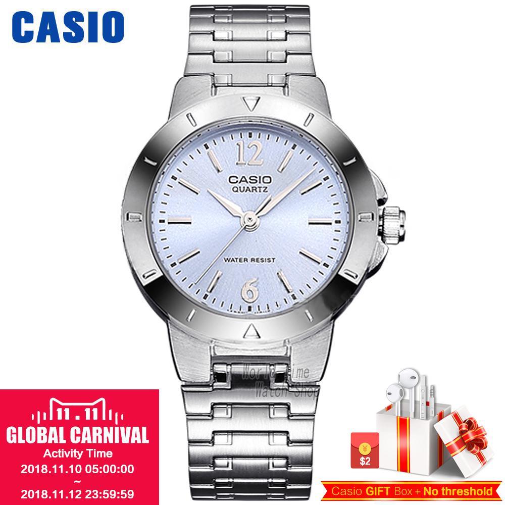 Casio watch classic steel ladies casual fashion watch LTP-1177A-2A LTP-1177A-4A1 casio ltp 1259pd 2a