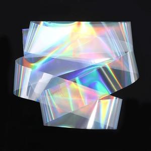 Image 5 - 1 rulo parlak lazer tırnak Sticker folyo kağıt sparkly şerit tırnak ipuçları transferi Nail Art Sticker dekorasyon