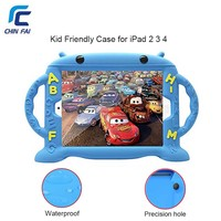 ZH 5376 For IPad 2 3 4 Case Soft Silicone Shockproof Case For IPad 4 Free