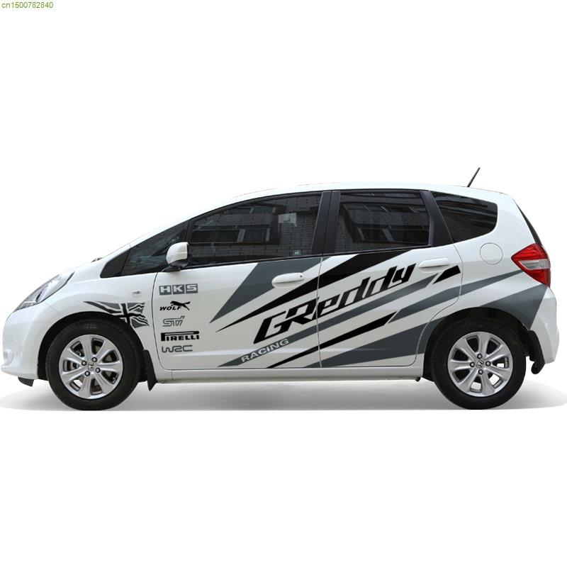 Graphics For Honda Fit Car Vinyl Graphics Wwwgraphicsbuzzcom - Cool car decals designcar styling dream racing design cool car refit vinyl stickers and
