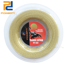 POWERTI 1.30mm Nylon Wire Soft Tennis Racket String 200m Reel Holdbar Tennis String Racquet Gold Training String 4 Colors