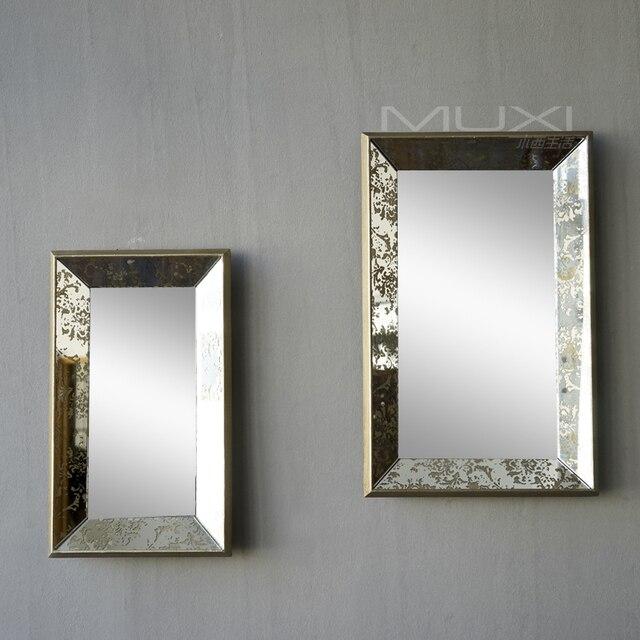 Americana campo francs de pared decorativos vanidad espejo del