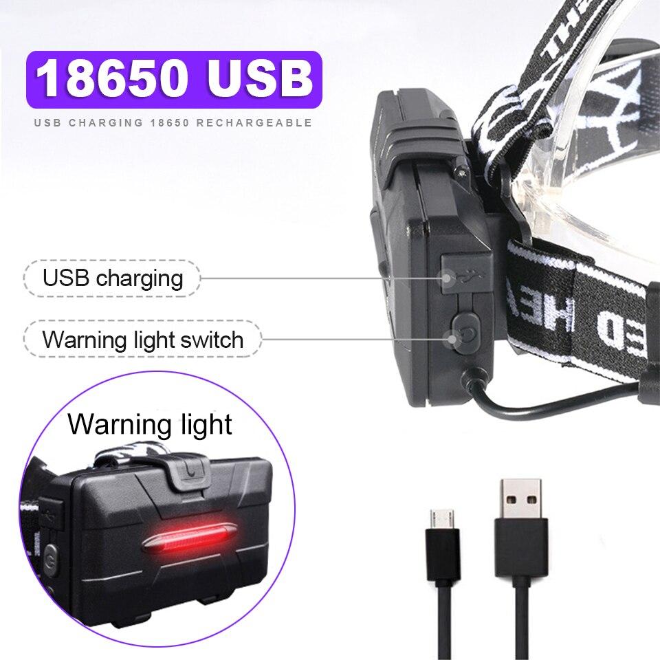 4*T6 Headlight Flashlight discount 7