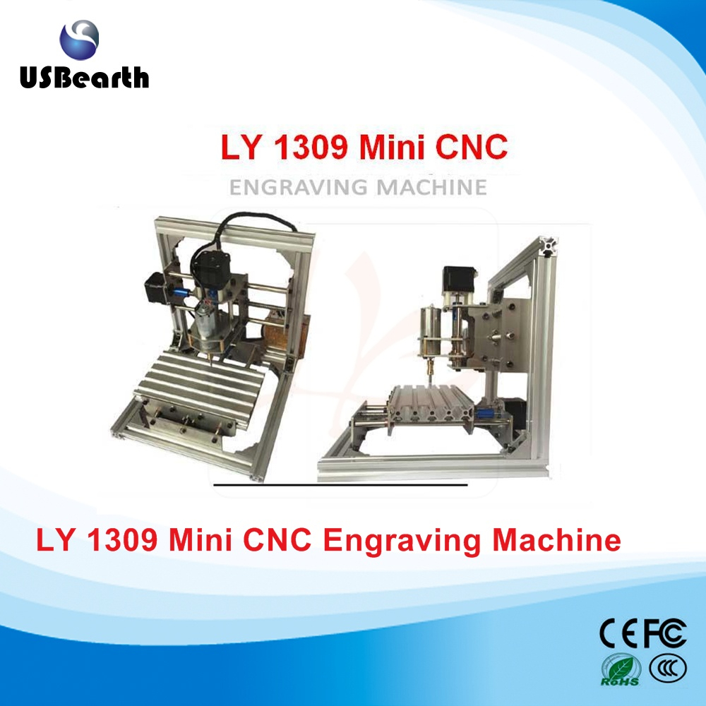 Russia tax free cheapest LY 1309 DC spindle 5W Mini CNC Engraving Machine free tax