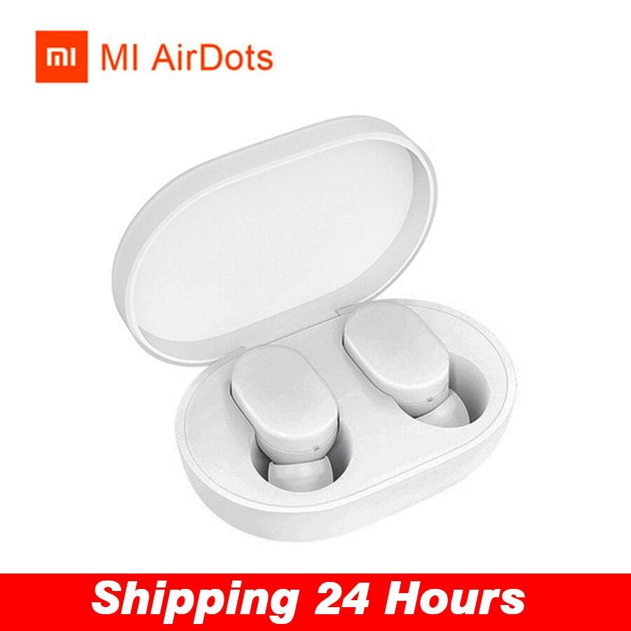 Xiao mi TWS AirDots Bluetooth écouteur Version jeunesse édition mi mi ni casque stéréo basse tactile casque sans fil écouteurs PK W1