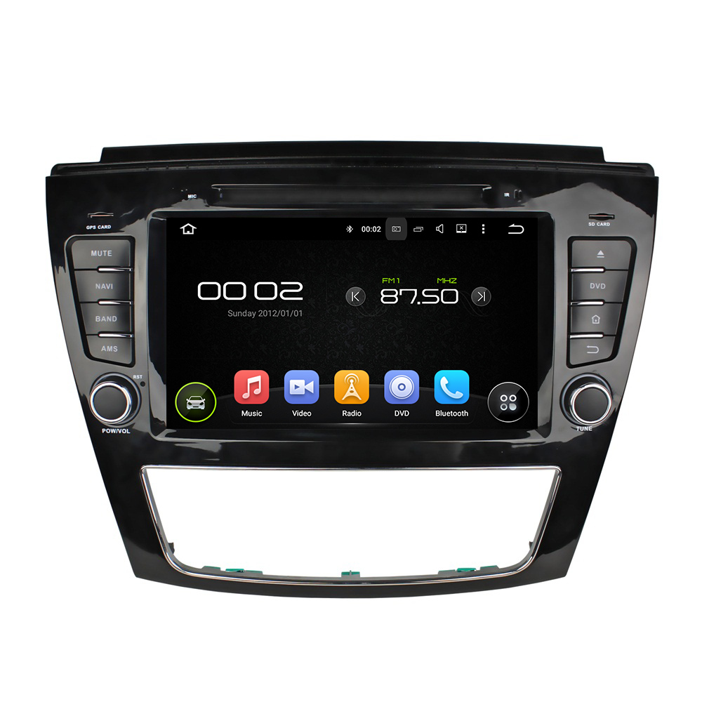 Navirider 2GB ram Android 7.1.2 HD CAR DVD player for JAC S5 audio gps radio stereo head unit best selling Multimedia 3G wifi