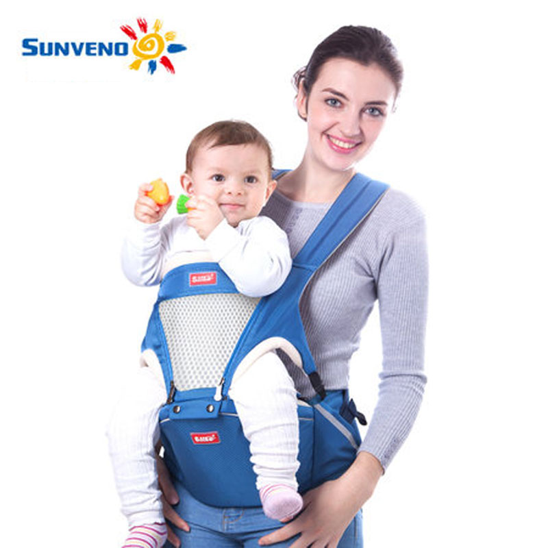 Us 59 0 Sunveno 2017 Baby Carriers Hipseat Newborn Baby Carrier Backpack Baby Carrier New Fashion 2in1 Baby Carrier Waist Tools In Backpacks