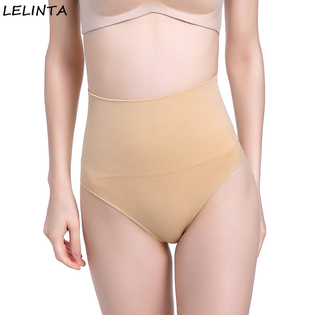 fe7ef5a9dbe LELINTA Slimming Belt Waist Trainer Thong Panties Corset Tummy Control  Underwear Body Shaper shapewear Briefs Butt Lifter Panty
