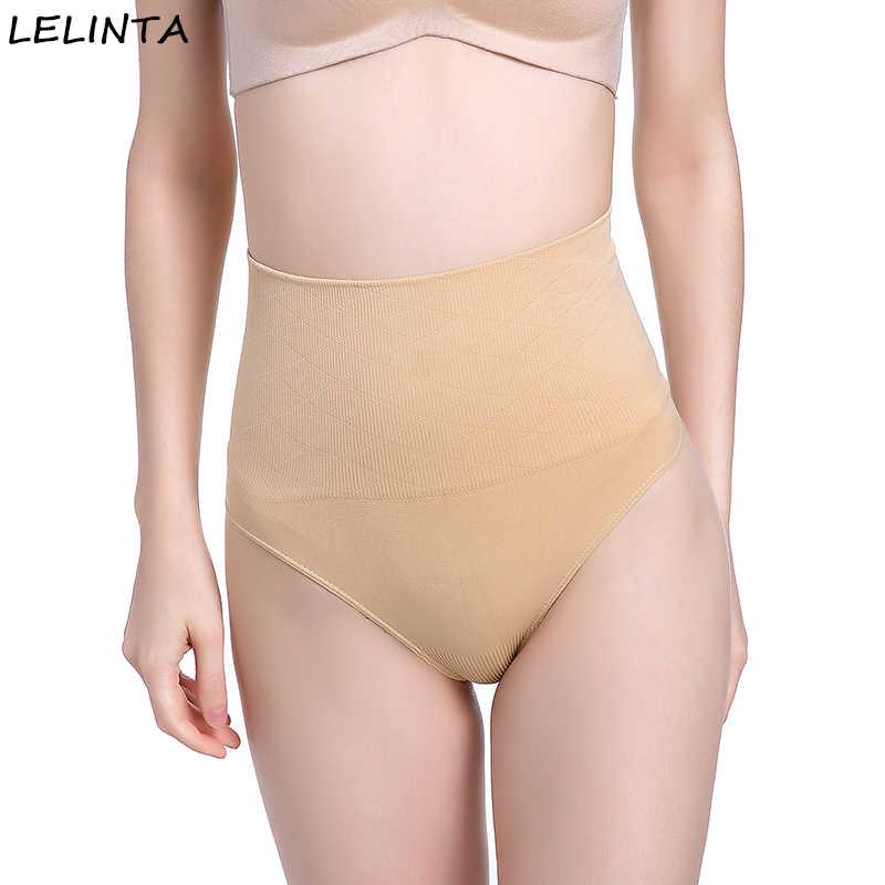 a8e3d6d4e81 LELINTA Slimming Belt Waist Trainer Thong Panties Corset Tummy Control Underwear  Body Shaper shapewear Briefs Butt