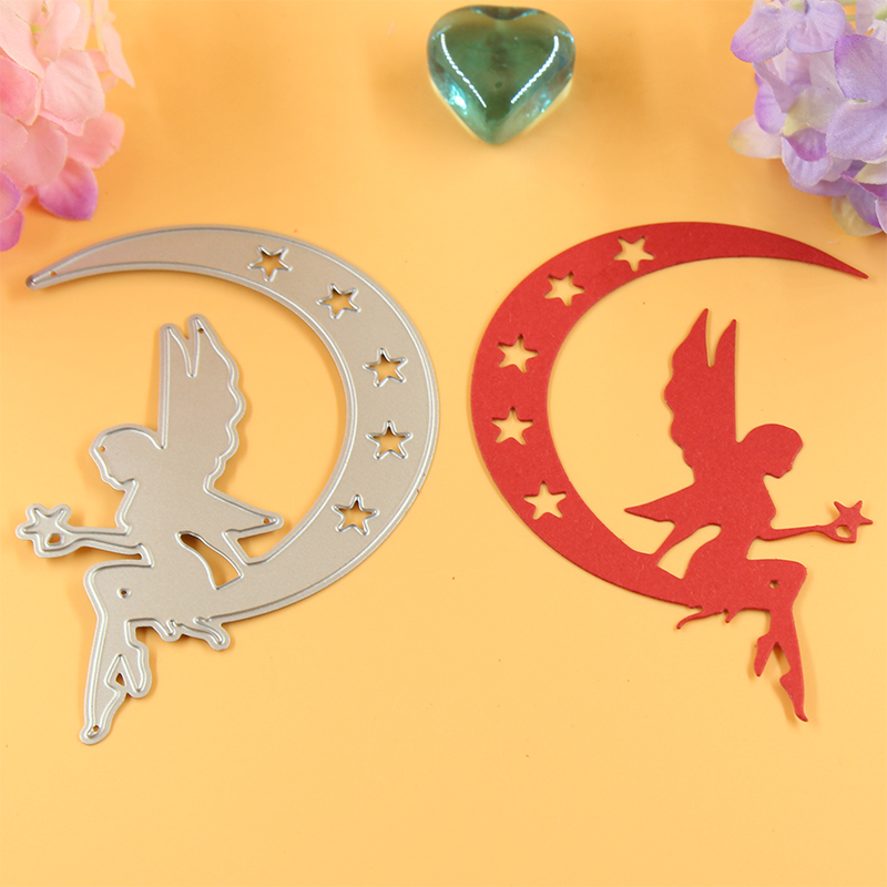 YLCD001 Fairy Metal Cutting Dies For Scrapbook Stencils DIY Cards Album Decoration Embossing Folder Template Die Cutter Craft