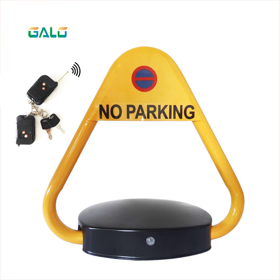 Outdoor Waterproof Used Automatic Remote Controlled Parking Lock/parking Barrier/ With Alarm Parking Space Lock