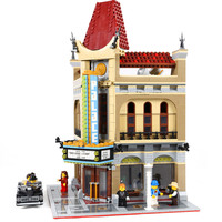 LEPIN 15006 Create Series Palace Cinema 10232 Building Blocks 2354pcs Bricks Toys Gift Compatible With Legoings
