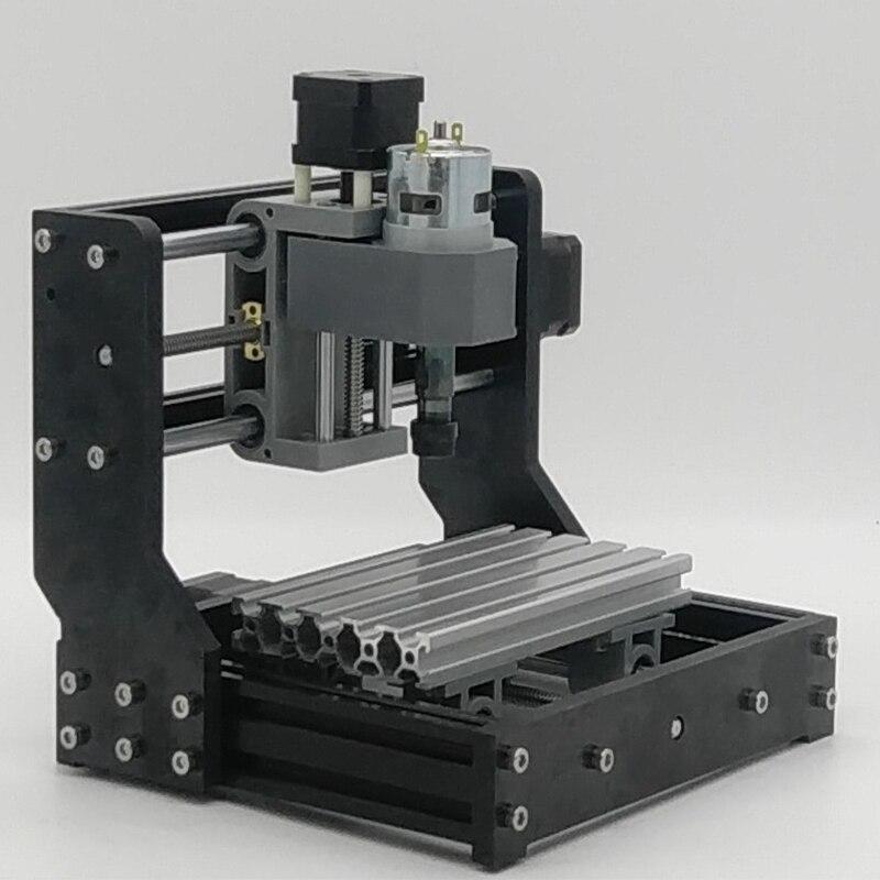 CNC 1810 Laser Machine de gravure Mini Laser graveur ER11 broche passe-temps outil Mini CNC routeur Table 180*100*45 CNC 1610PRO