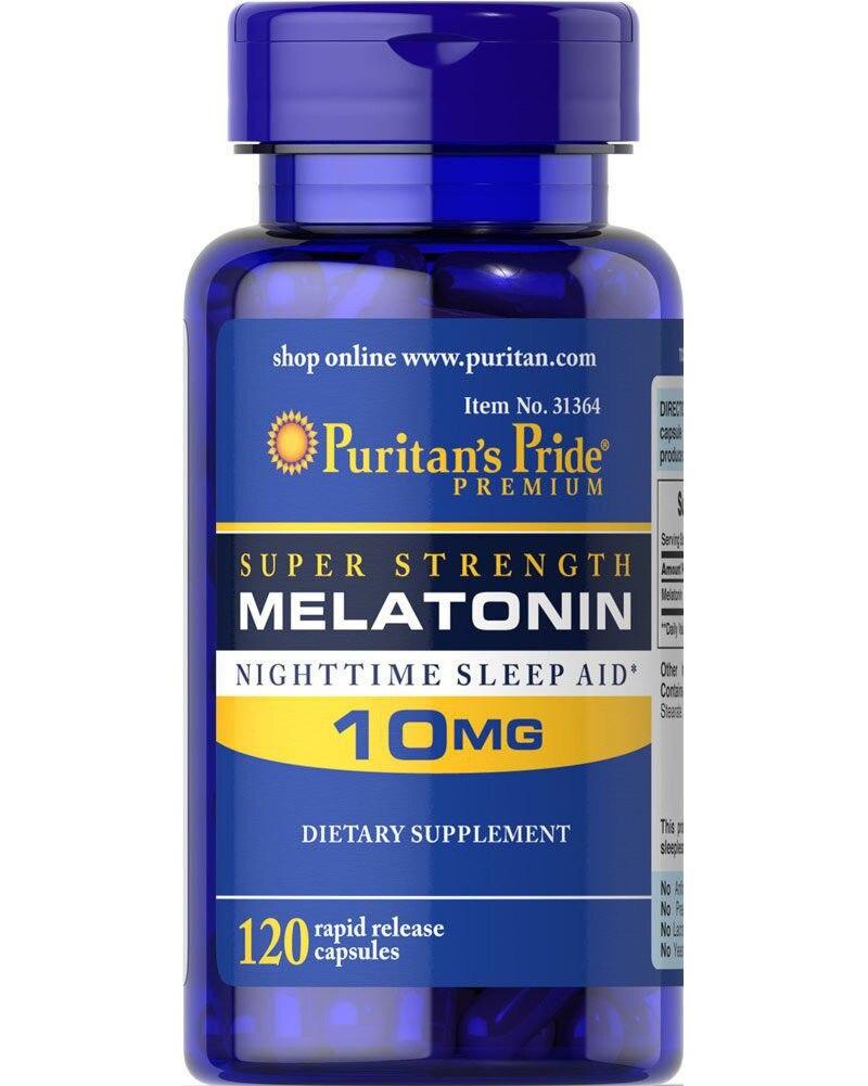 Super Force Mélatonine 10 mg * 120 pcs Aider À améliorer le sommeil sommeil nocturne aide livraison gratuite