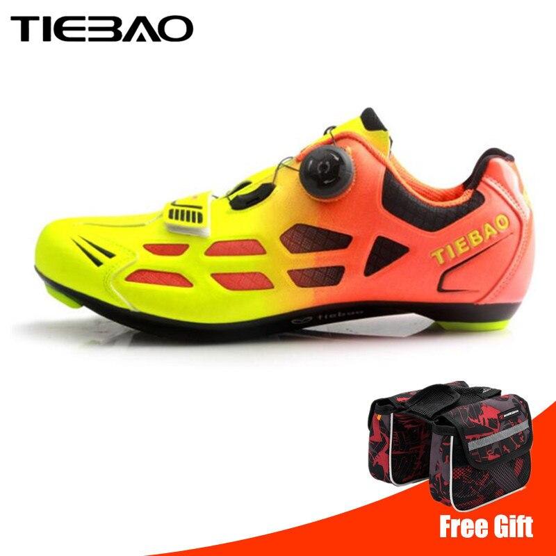 TIEBAO Road Cycling Shoes 2019 Men