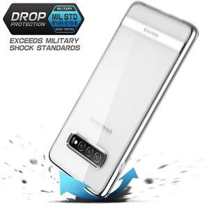 Image 3 - Pour Samsung Galaxy S10 Plus étui 6.4 pouces SUPCASE UB Metro Premium mince souple étui en TPU plaqué lignes galvanisées étui couverture arrière
