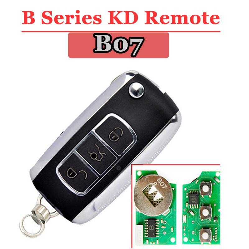 High Quality (1pcs  )KD900 Remote Key For  B07 3 Button Remote Key For Keydiy URG200/KD900/KD200 Machine