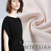 Сплошной цвет драпированные креп Штаны ткань одежда юбка креп ткани 100 полиэстер ткань оптовая полиэстер ткань