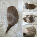 Thin Skin Women Wig Custom Made Durable Comfortable Invisible Hairpiece For Female D001