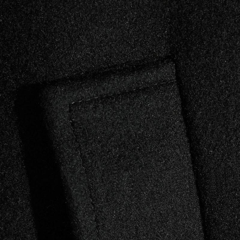 Laine Femmes Couvert Survêtement Collar Mince Turn Mode Dames Xl S En Noir Bouton L 2017 Cachemire M down Mélanges Manteau fqfOZrv