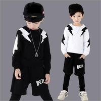GARYDUCK 2018 Children S Sports Suit Boy Casual Tracksuit Kids Hip Hop Dancewear Boys Spring Clothes