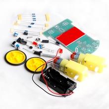 Мотор-редуктор отслеживания робот smart kit электронные модуль автомобиль комплект diy с