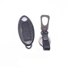 Para Nissan Inteligente 4 Botão caso chave auto Acessórios keychain para Nissan X-TRAIL LIVINA QASHQAI SYLPHY TEANA NOVO TIIDA