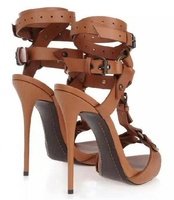 À T Hauts Chaussures Sexy Gladiateur Sandales Talons Strap Femme nXNZ0O8wkP