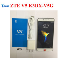 Çıplak Göz 3D cep telefonu ZTE V5 K3DX-V5G 5.5 inç 3000 mAh Android 5.1.1 3 GB RAM 32 GB ROM Parmak Izi MSM 8952 Octa Çekirdek S...