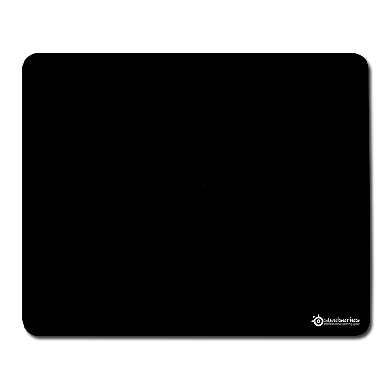 Steelseries Black logo Mouse Mat Pad to Mouse Notebook Computer Mousepad Boy Gift Game alfombrilla raton