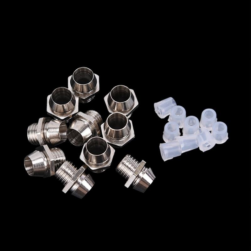 10Pcs 3mm LED Lamp Holder LED Diode Metal Holder Luminous Tube Holder