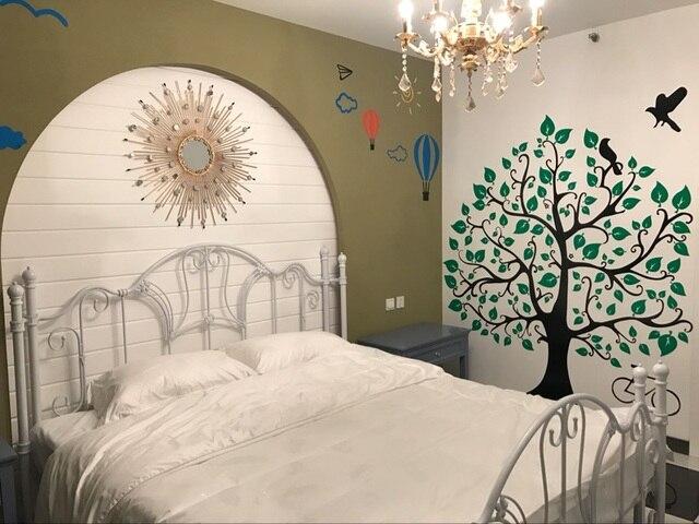 € 27.1 |L\'arbre 3 d porche couloir chambre parure chambre mur décoration  dans Stickers muraux de Maison & Jardin sur AliExpress.com | Alibaba Group