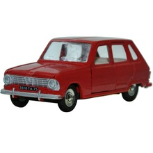 Dinky toys Miniatures 1416 RENAULT 6 model car 1:43 Scale Diecast Alloy Metal High Simulation Exquisite Model Toys