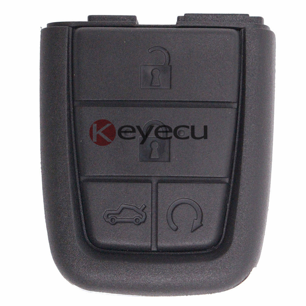 Keyecu 3pcs/lot Replacement Shell Folding Remote Key Case Fob 4 Button for Pontiac G8 2008 2009